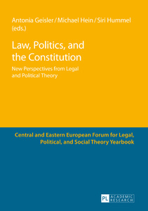Title: Law, Politics, and the Constitution