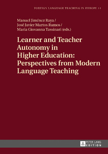 Title: Learner and Teacher Autonomy in Higher Education: Perspectives from Modern Language Teaching