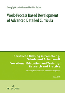 Title: Work-Process Based Development of Advanced Detailed Curricula