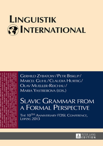 Title: Slavic Grammar from a Formal Perspective