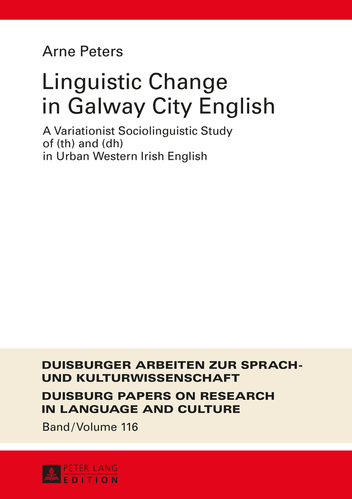 Title: Linguistic Change in Galway City English