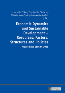 Title: Economic Dynamics and Sustainable Development – Resources, Factors, Structures and Policies