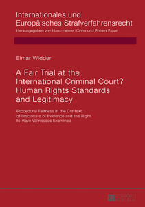 Title: A Fair Trial at the International Criminal Court? Human Rights Standards and Legitimacy