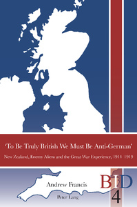 Title: 'To Be Truly British We Must Be Anti-German'