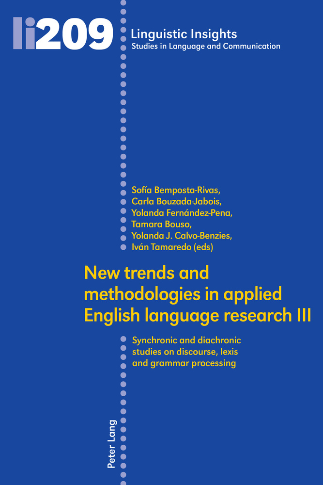 Title: New trends and methodologies in applied English language research III