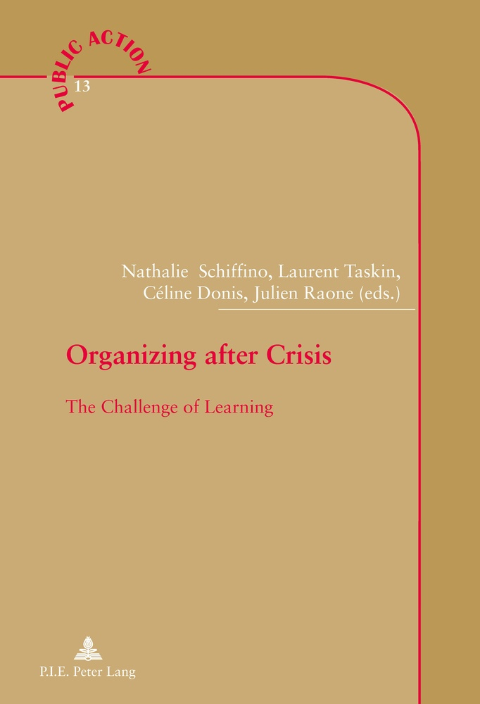 Title: Organizing after Crisis