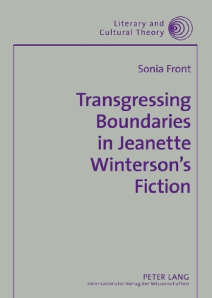 Title: Transgressing Boundaries in Jeanette Winterson's Fiction