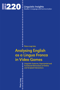 Title: Analysing English as a Lingua Franca in Video Games