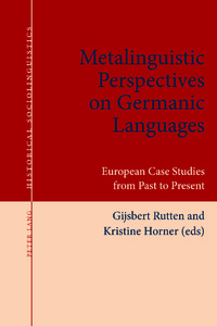 Title: Metalinguistic Perspectives on Germanic Languages