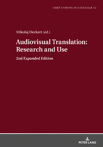 Title: Audiovisual Translation – Research and Use