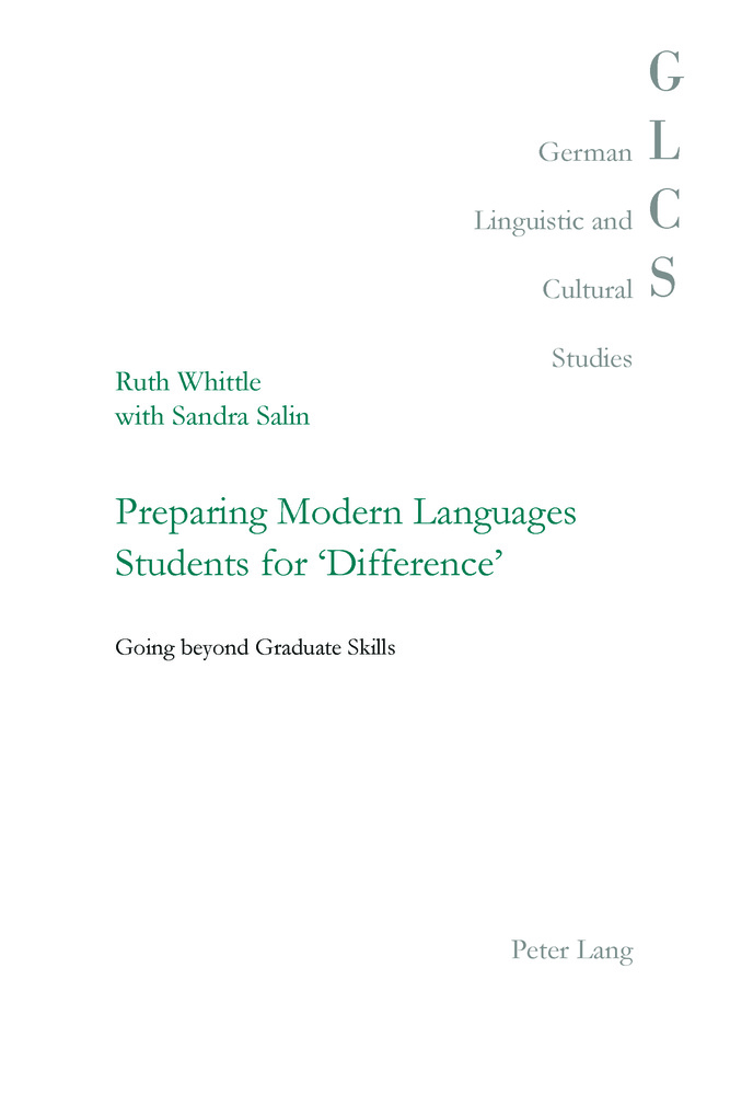 Title: Preparing Modern Languages Students for 'Difference'