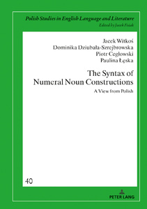 Title: The Syntax of Numeral Noun Constructions