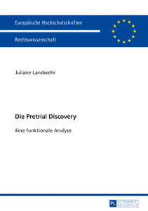 Title: Die Pretrial Discovery