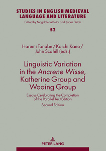 Title: Linguistic Variation in the Ancrene Wisse, Katherine Group and Wooing Group