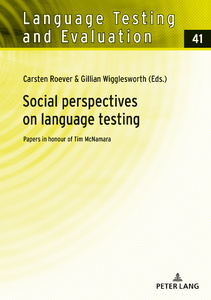 Title: Social perspectives on language testing