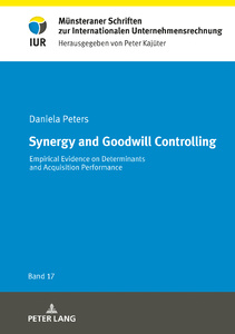 Title: Synergy and Goodwill Controlling