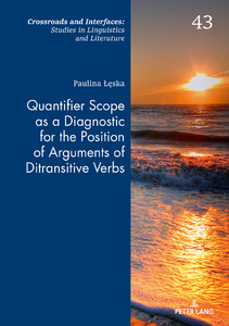 Title: Quantifier Scope as a Diagnostic for the Position of Arguments of Ditransitive Verbs