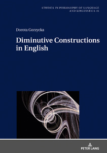 Title: Diminutive Constructions in English