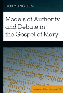 Title: Models of Authority and Debate in the Gospel of Mary