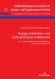 Title: Energy Arbitration and Judicial Dispute Settlement