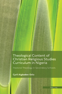 Title: Theological Content of the Christian Religious Studies Curriculum in Nigeria