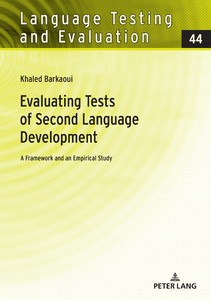 Title: Evaluating Tests of Second Language Development