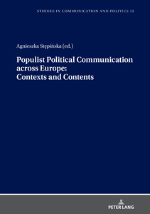Title: Populist Political Communication across Europe: Contexts and Contents