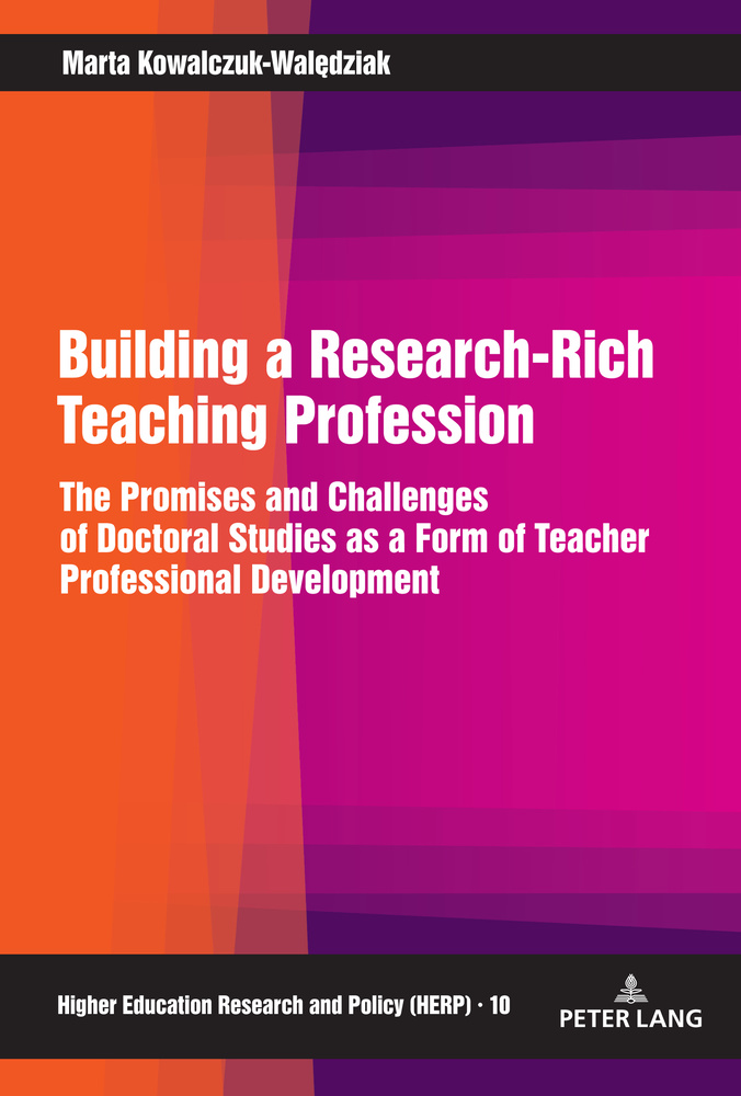 Title: Building a Research-Rich Teaching Profession