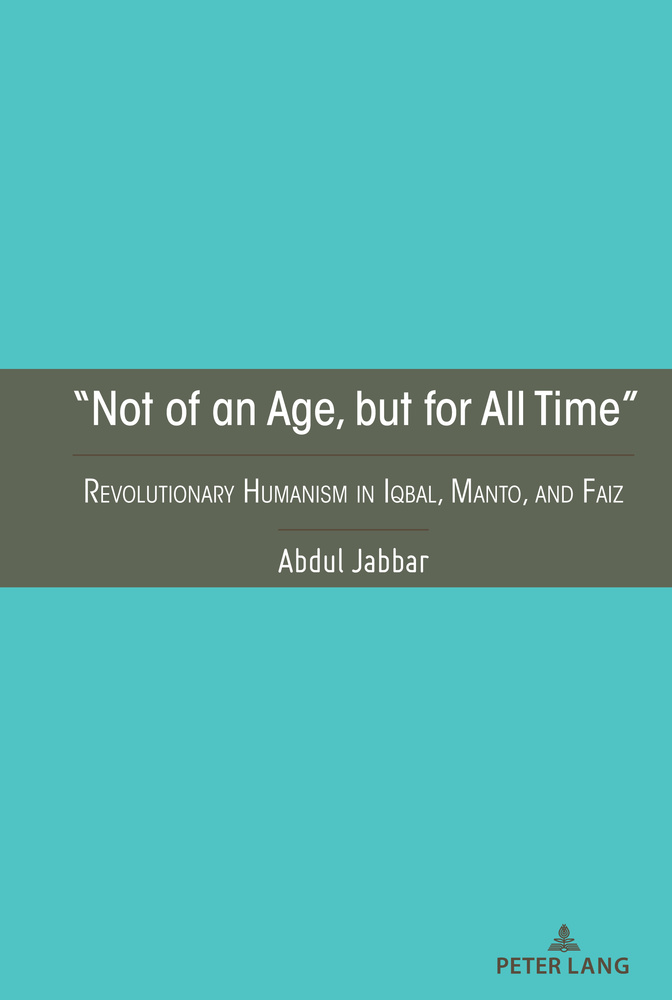 """Title: """"Not of an Age, but for All Time"""""""