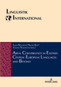 Title: Areal Convergence in Eastern Central European Languages and Beyond