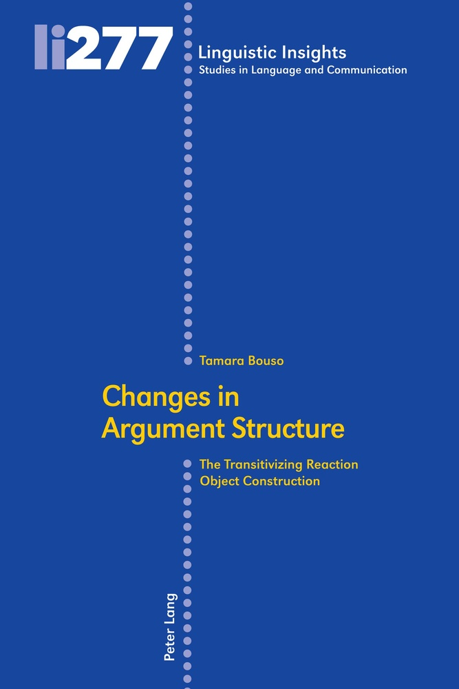Title: Changes in Argument Structure
