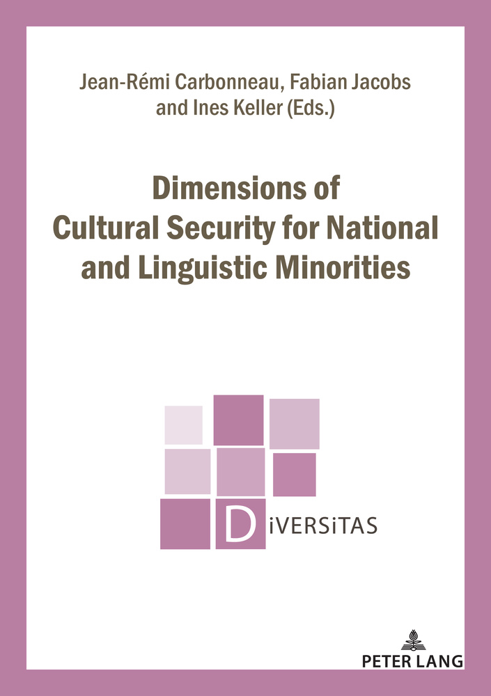 Title: Dimensions of Cultural Security for National and Linguistic Minorities