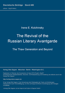 Title: The Revival of the Russian Literary Avantgarde