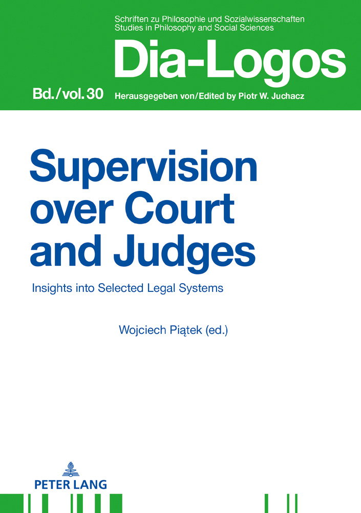 Title: Supervision over Courts and Judges