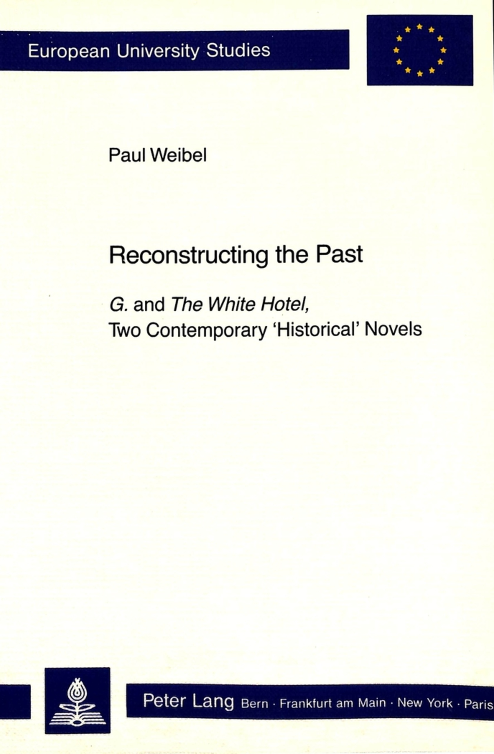 Title: Reconstructing the Past