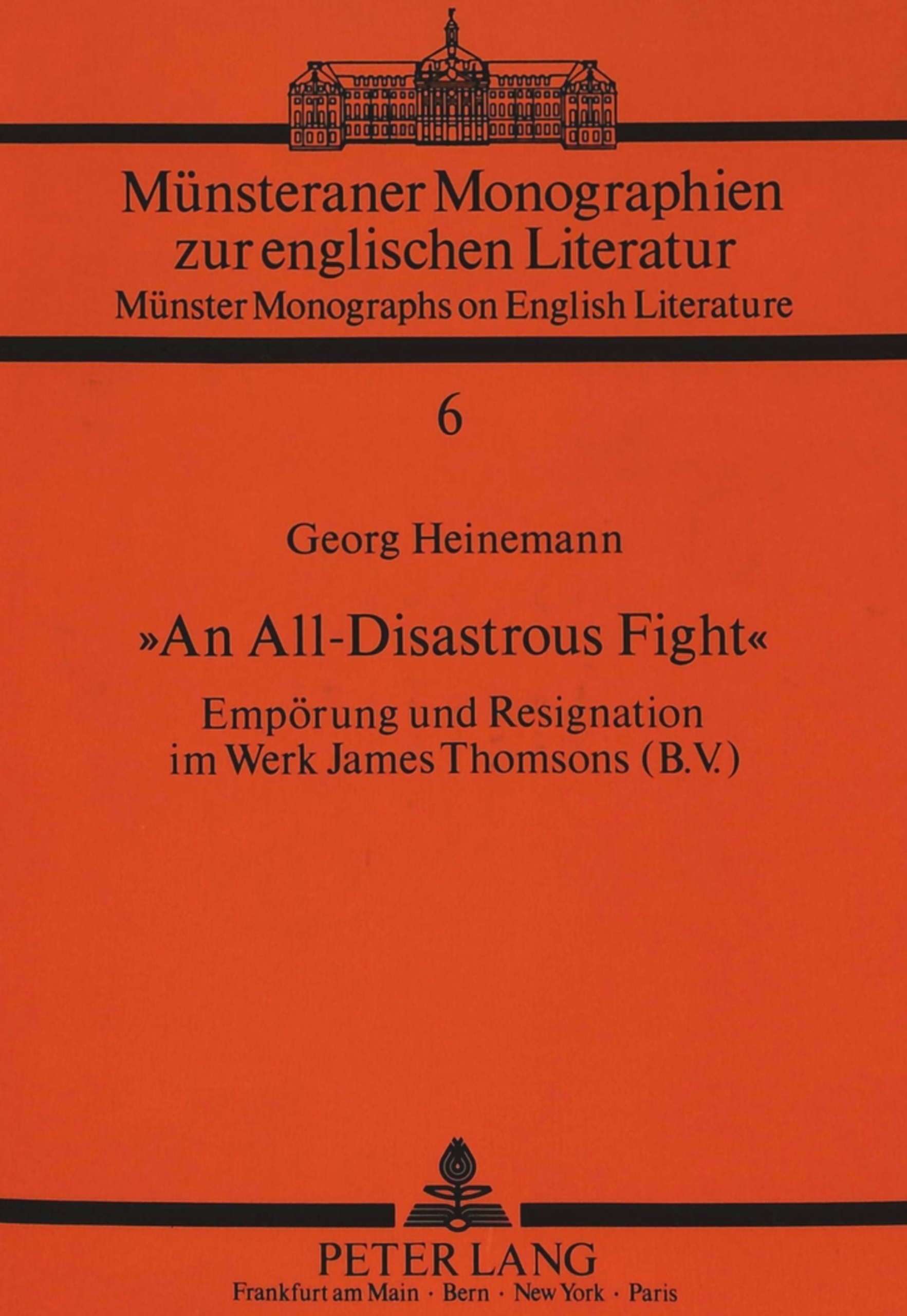 Titel: «An All-Disastrous Fight»