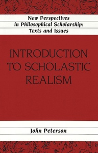 Title: Introduction to Scholastic Realism
