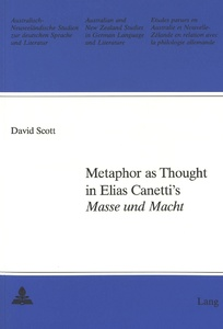 Title: Metaphor as Thought in Elias Canetti's «Masse und Macht»