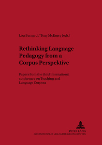 Title: Rethinking Language Pedagogy from a Corpus Perspective