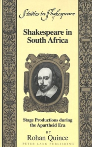 Title: Shakespeare in South Africa