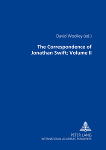 Title: The Correspondence of Jonathan Swift, D. D.