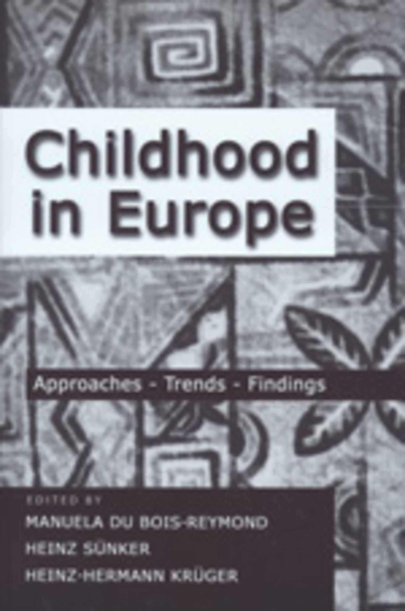 Title: Childhood in Europe