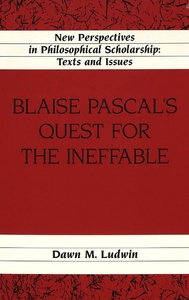 Title: Blaise Pascal's Quest for the Ineffable