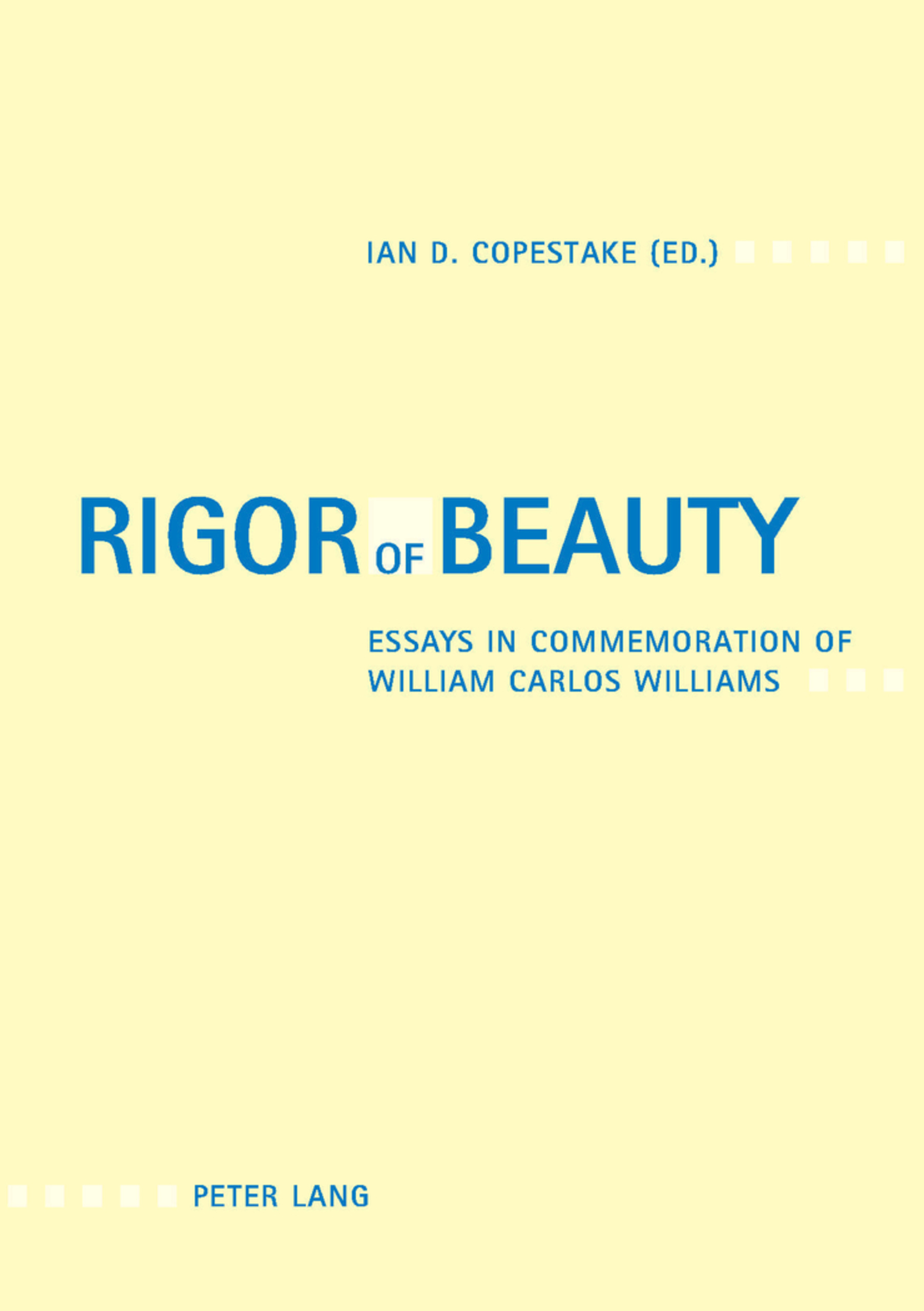 Title: Rigor of Beauty
