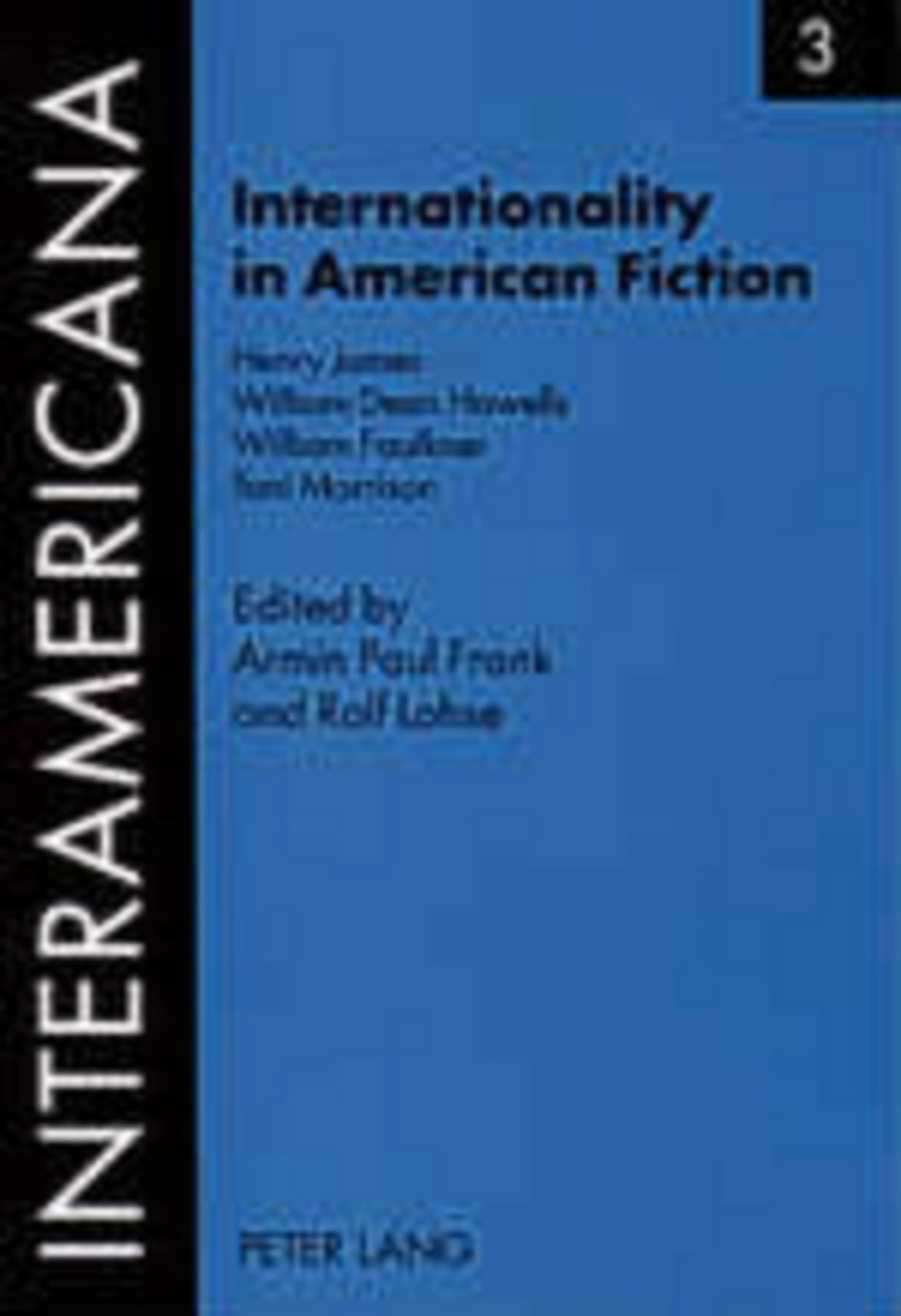 Title: Internationality in American Fiction