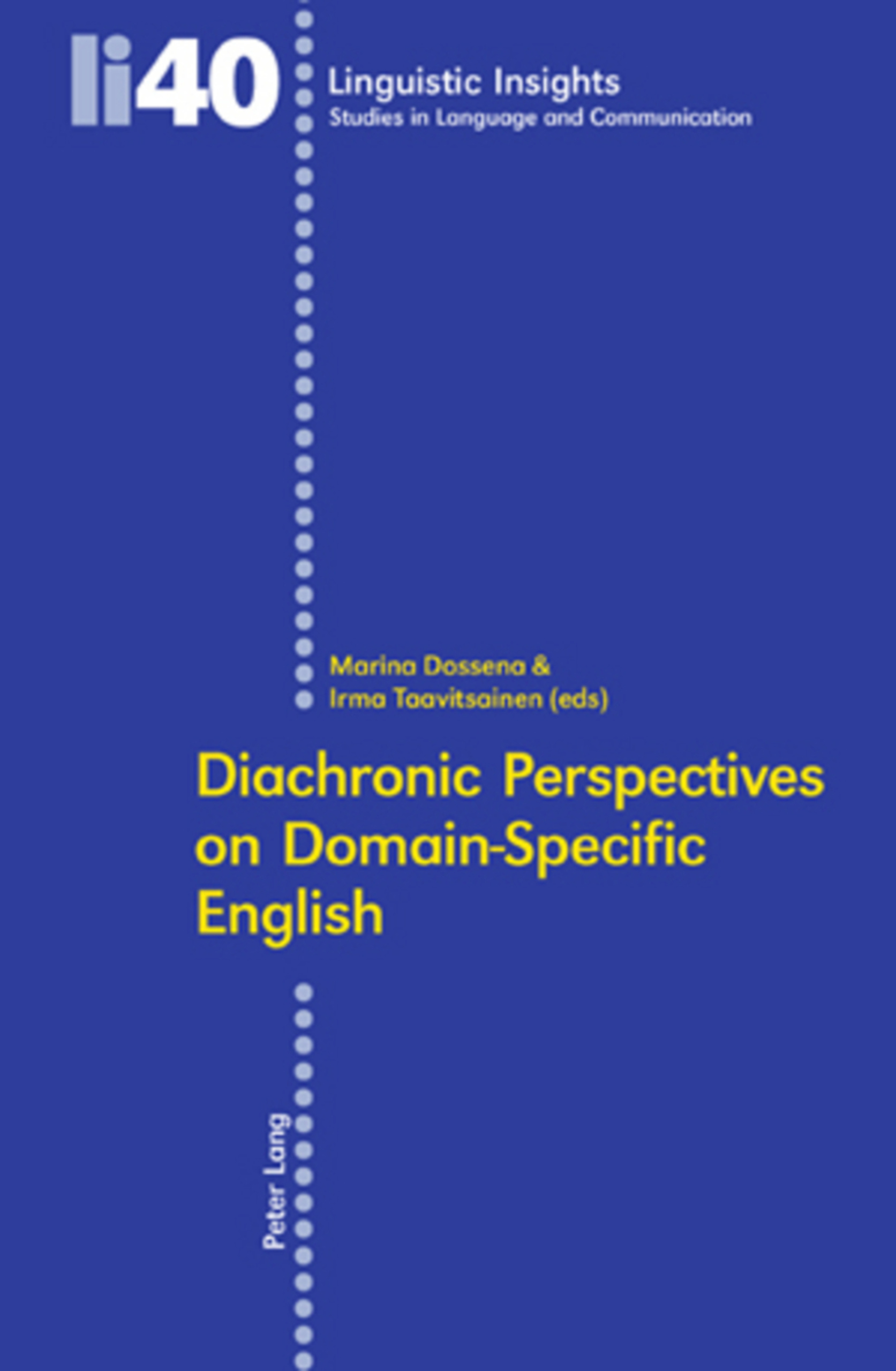 Title: Diachronic Perspectives on Domain-Specific English