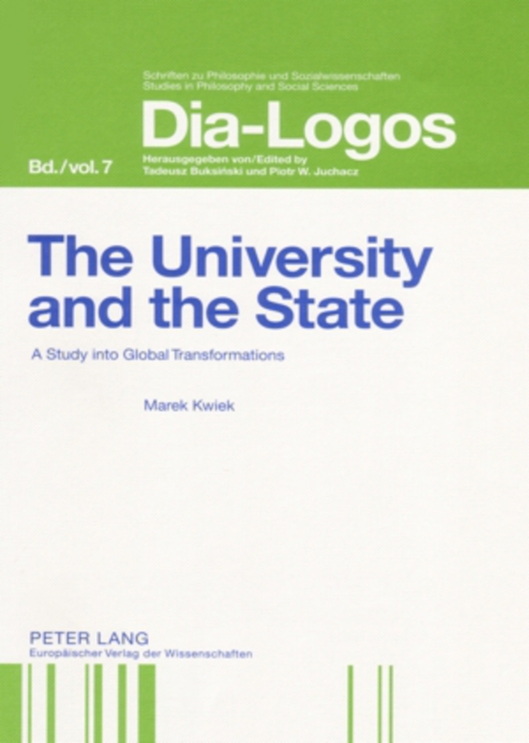 Title: The University and the State