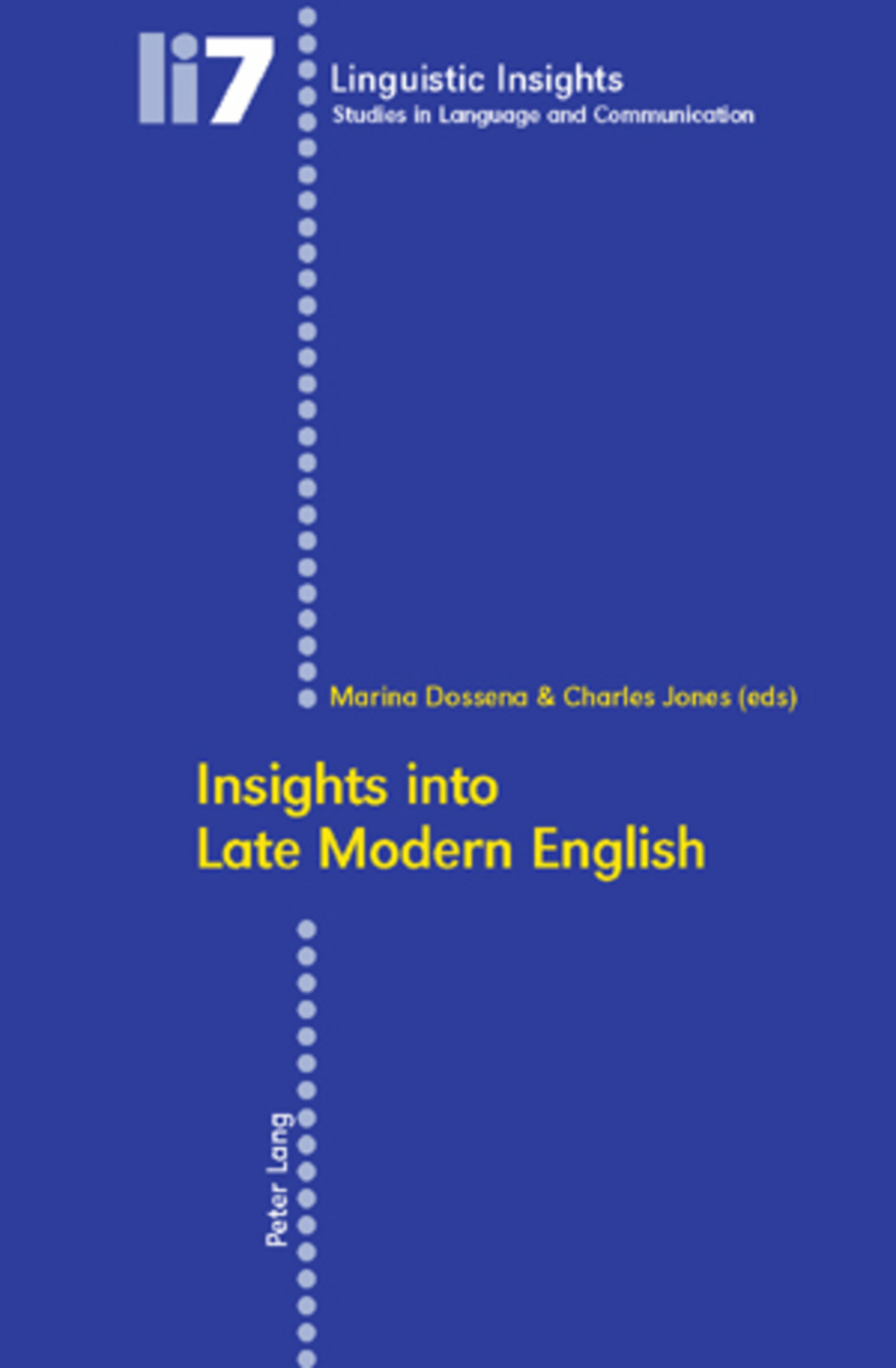 Title: Insights into Late Modern English