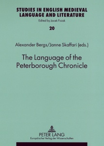 Title: The Language of the Peterborough Chronicle