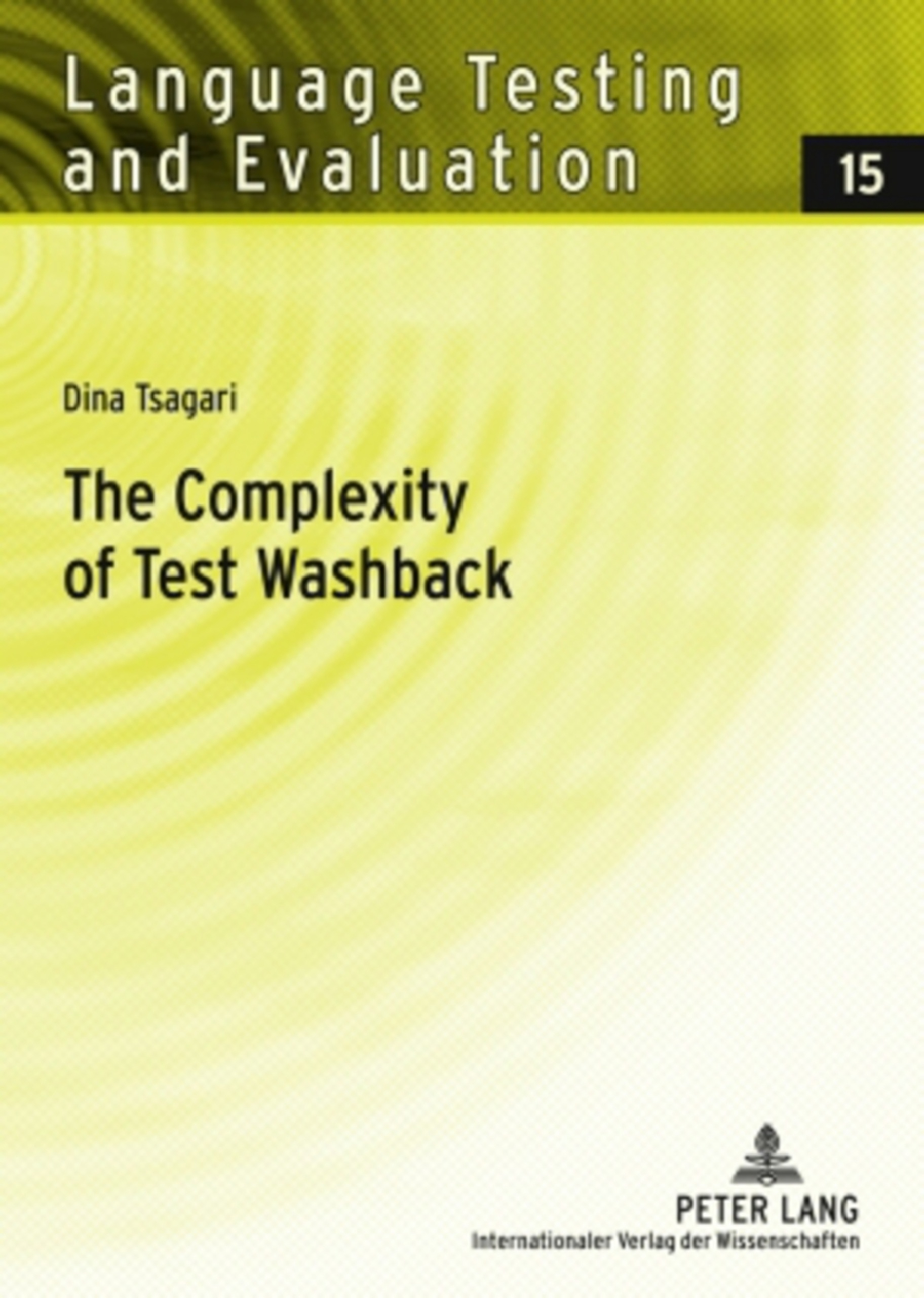 Title: The Complexity of Test Washback